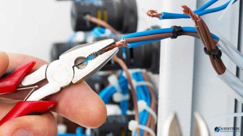 Стоимость работ по замене электропроводки