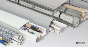 Монтаж электропроводки в кабельных пластиковых коробах