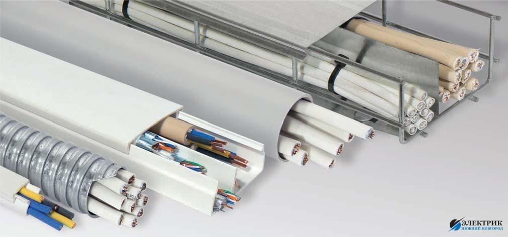 Выбор способа прокладки проводов и кабелей
