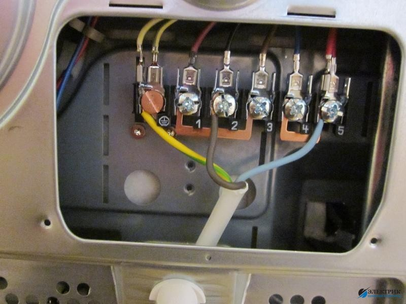 подключить электрическую плиту