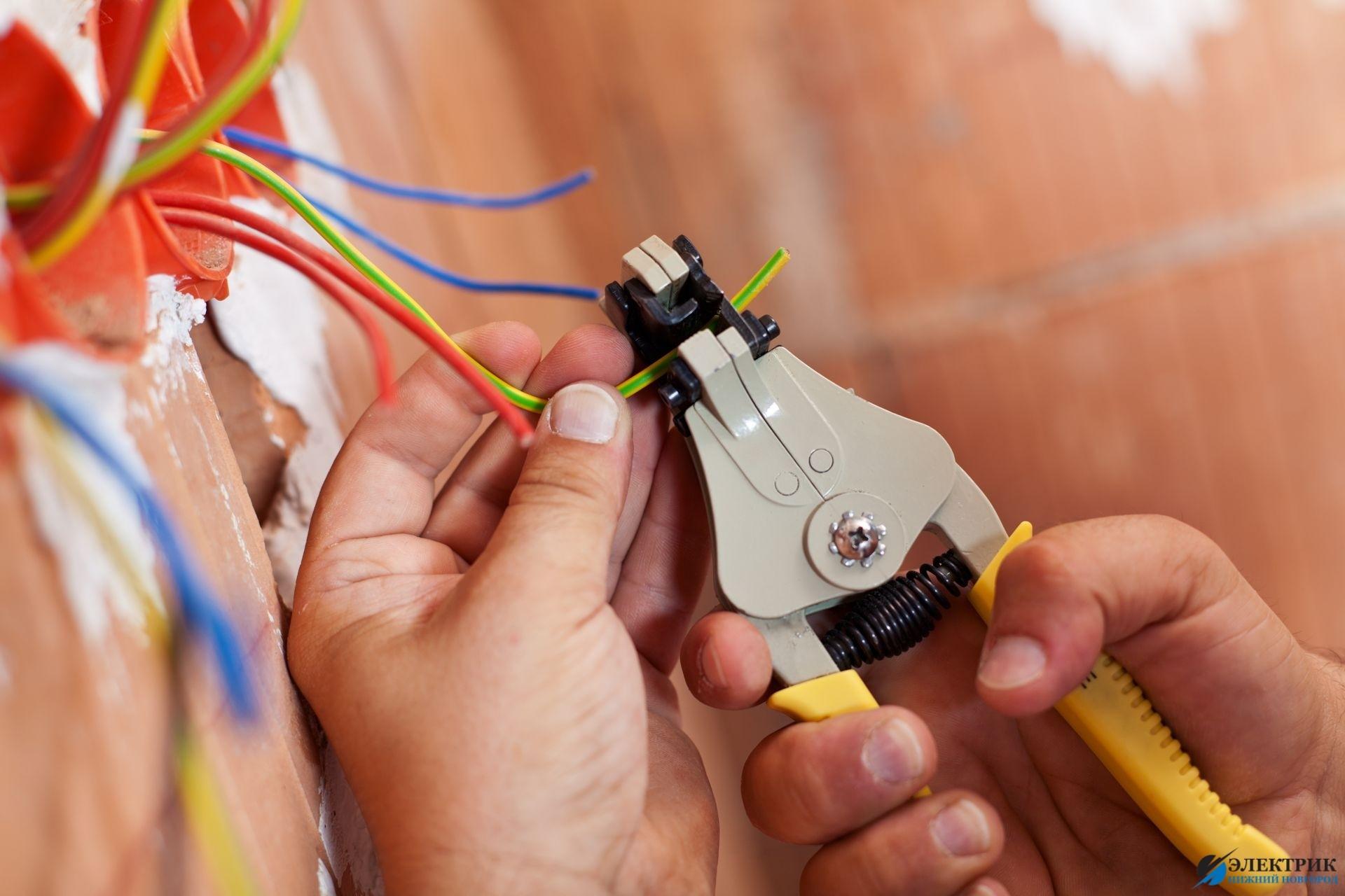 Электромонтажные работы на кухне